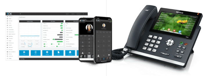 3cx small business phone system in Portland