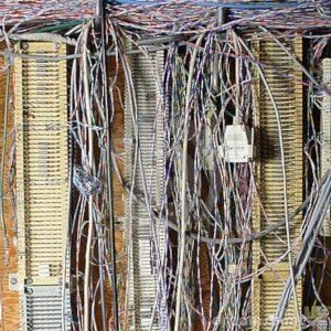 Messy PBX Wiring